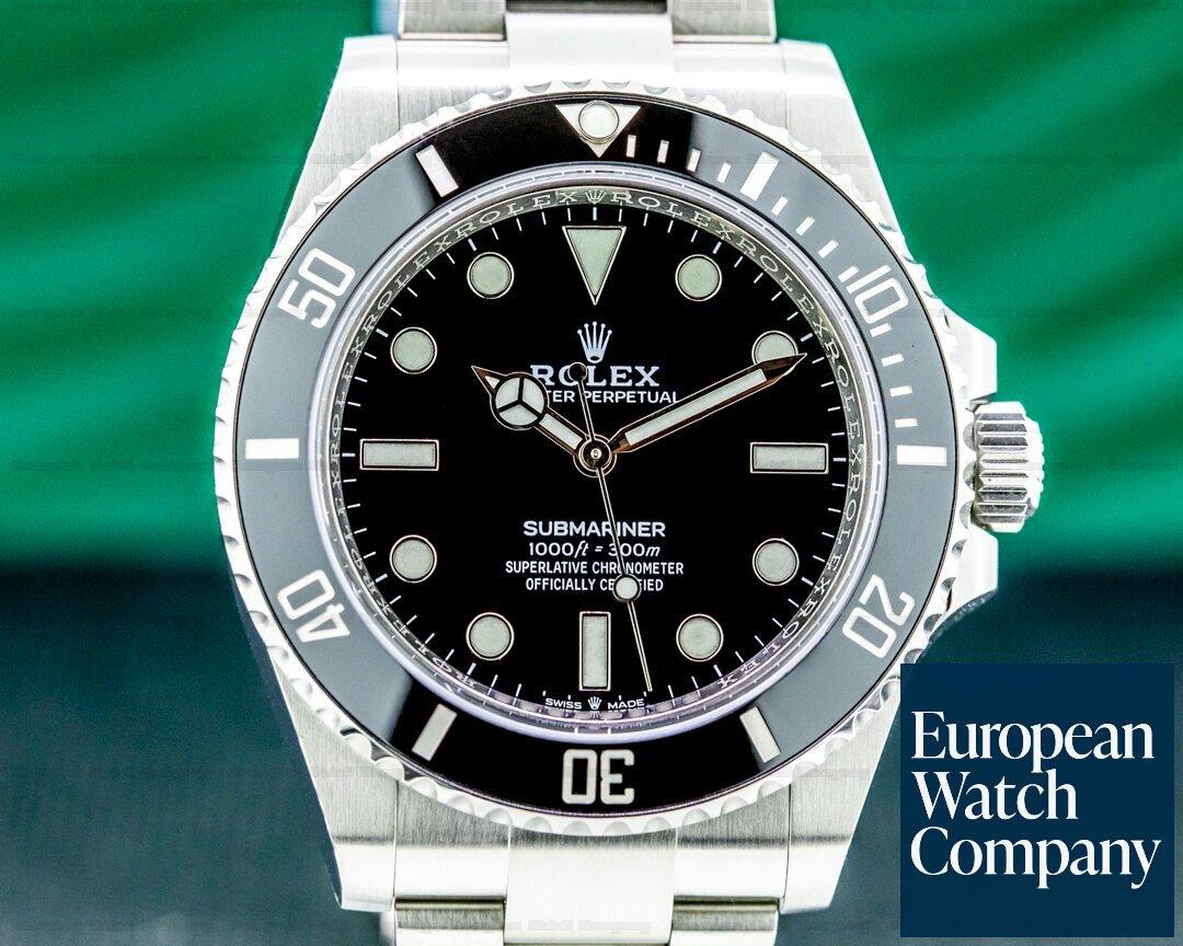 Rolex 124060 Submariner 124060 No Date Ceramic Bezel 41MM 2021