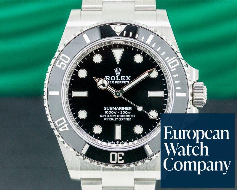 Rolex 124060 Submariner 124060 No Date Ceramic Bezel 41MM UNWORN