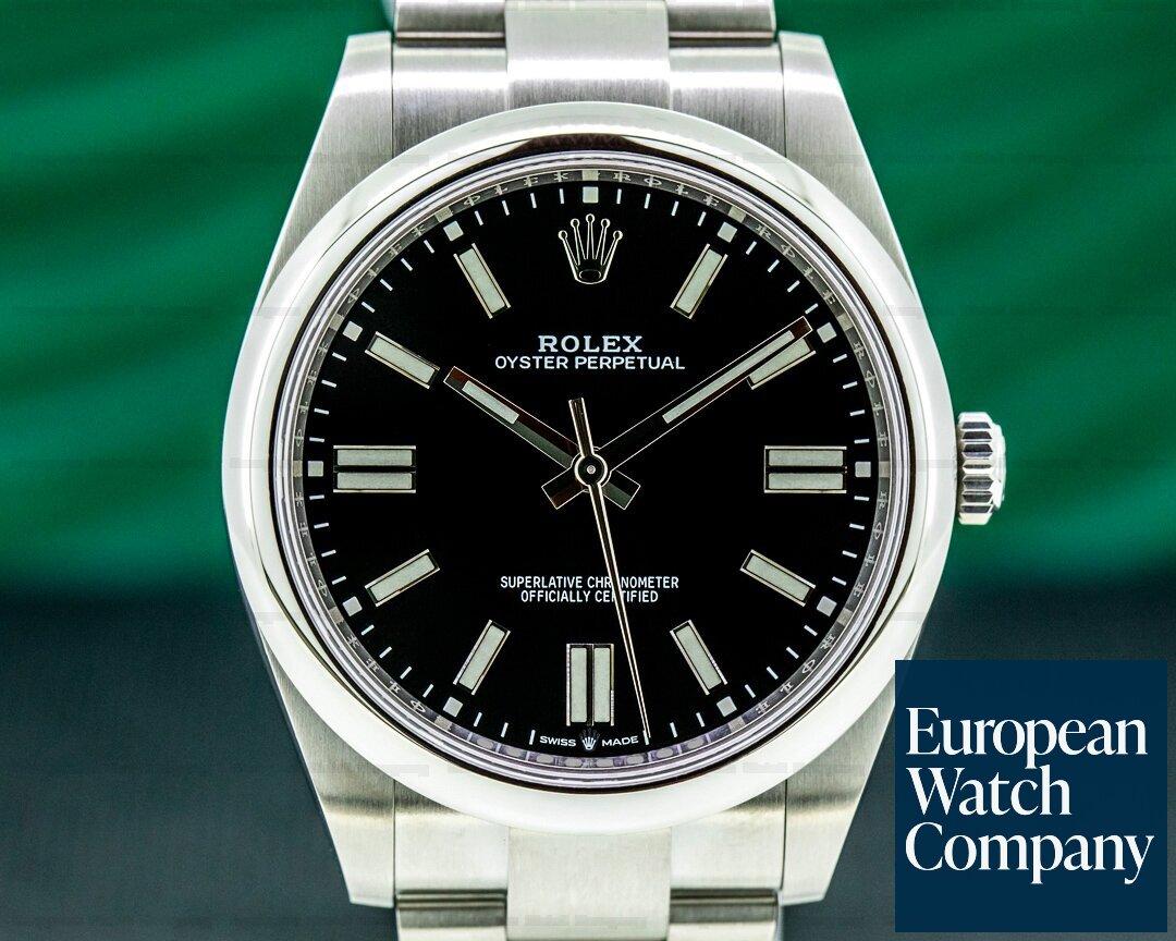 Rolex 124300 Oyster Perpetual 124300 41mm SS / Black Dial 2020 UNWORN