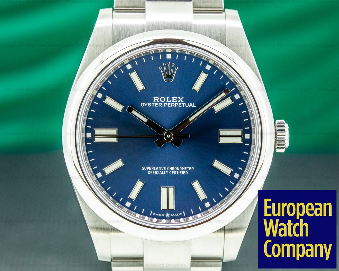Rolex 124300 Oyster Perpetual 124300 41mm SS / Blue Dial 2020