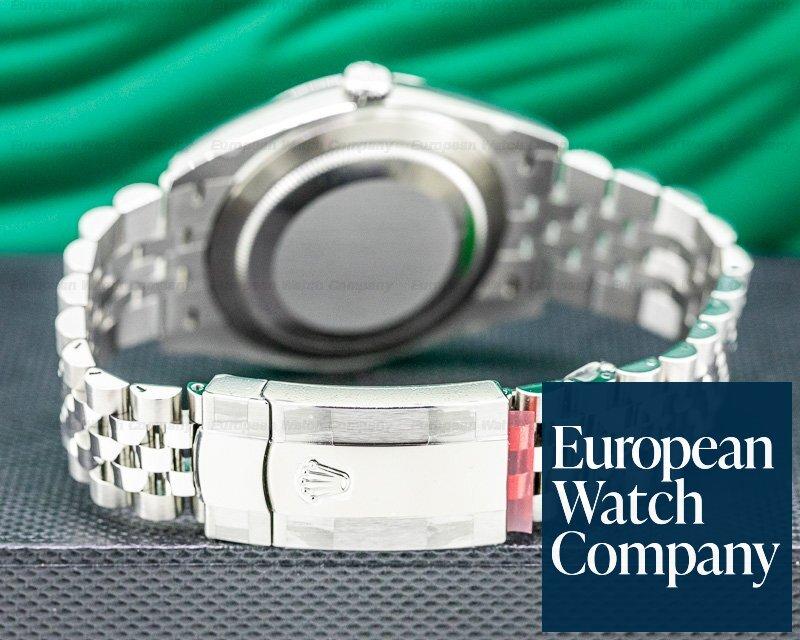 Rolex 126300 Datejust 41 Blue Roman Dial SS UNWORN