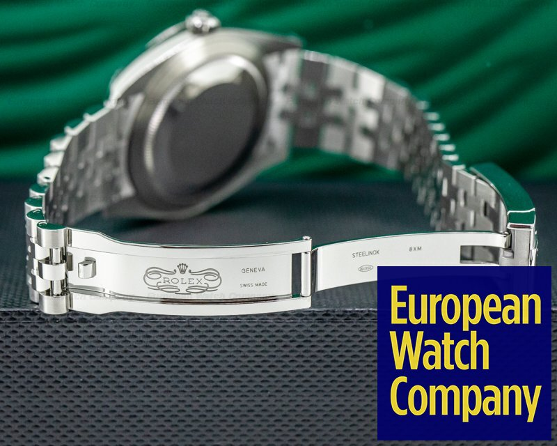 Rolex 126300 Datejust 41 Silver Stick Dial SS Jubilee UNWORN