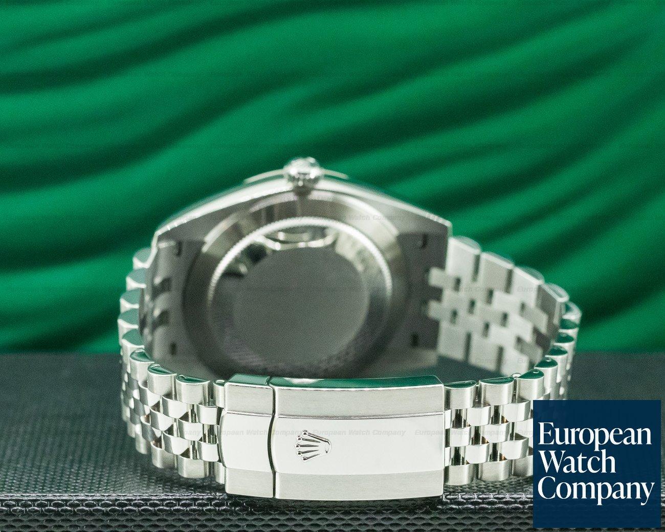 Rolex 126334 Datejust 41 Rhodium Stick Dial SS / Jubilee