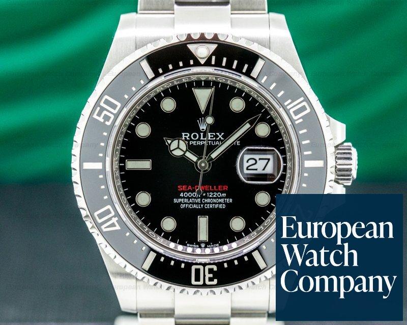 Rolex 126600 Sea Dweller 126600 RED 43MM 2020 SS UNWORN