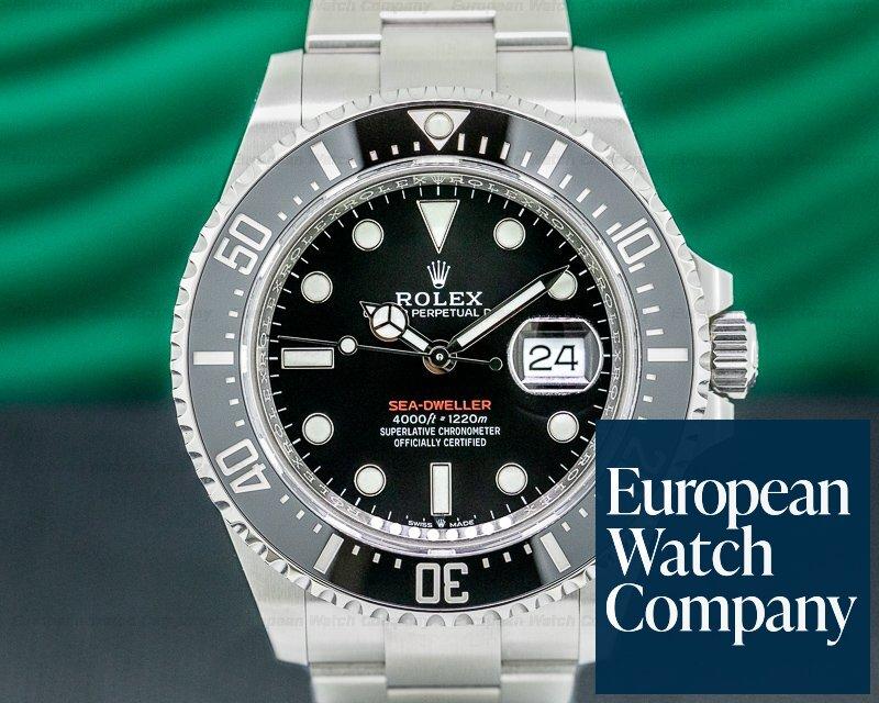 Rolex 126600 Sea Dweller 126600 RED 43MM SS UNWORN 2020