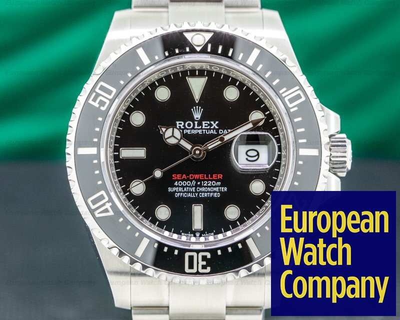 Rolex 126600 Sea Dweller 126600 RED 43mm SS UNWORN