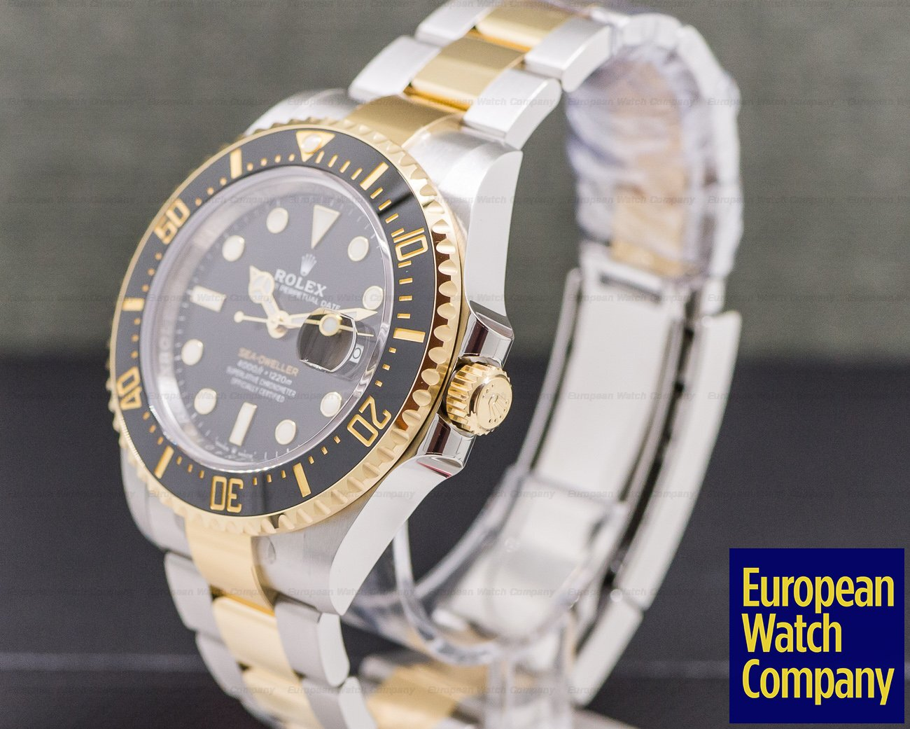 "Rolex 126603 Sea Dweller ""Two-Tone"" SS / 18k YG NEW MODEL"
