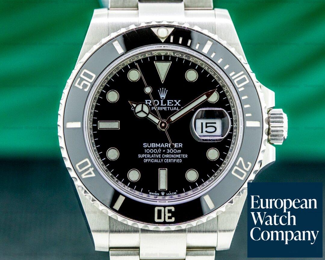 Rolex 126610LN  Submariner Date 126610LN Ceramic Bezel 41MM 2021