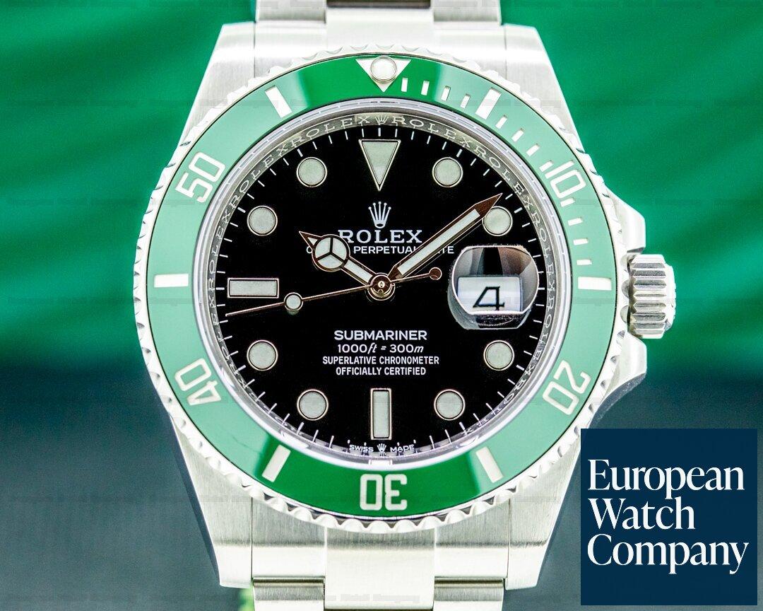 Rolex 126610LV Submariner Date 126610LV Kermit GREEN Ceramic Bezel 41MM