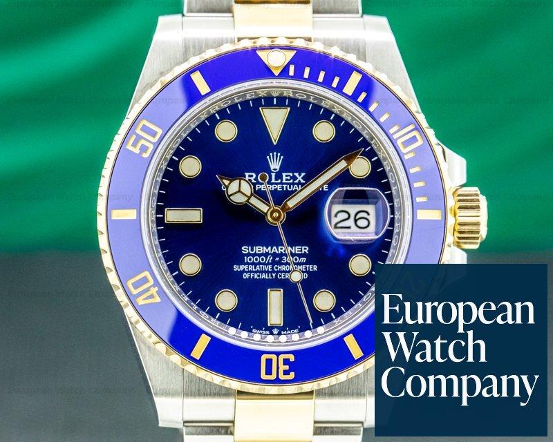 Rolex 126613LB Submariner 41MM 126613LB Ceramic Blue Dial 18K / SS 2020