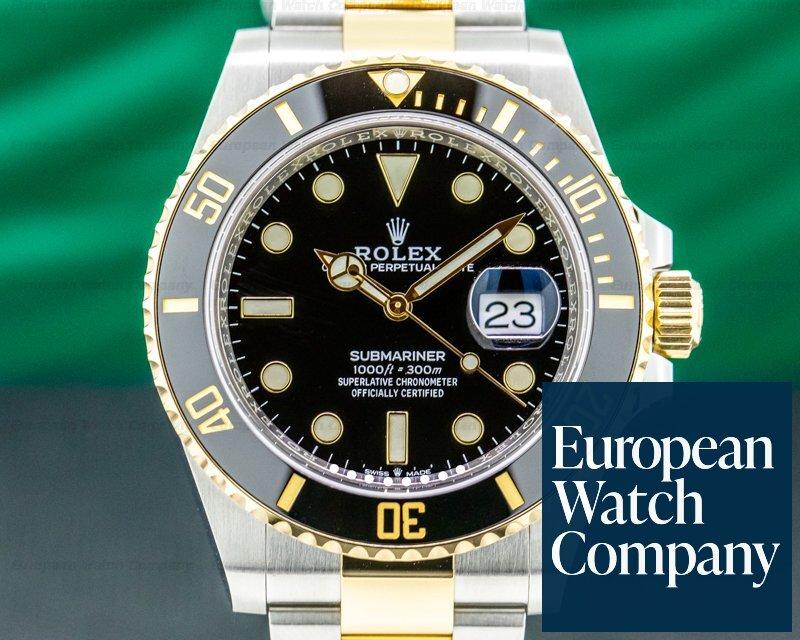 Rolex 126613LN Submariner 41MM 126613LN Ceramic Black Dial 18K / SS 2020 UNWORN