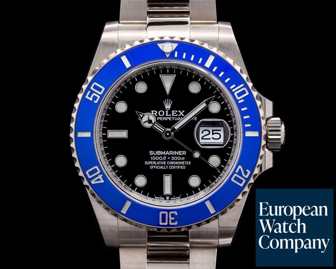 Rolex 126619LB Submariner Date 126619 18K White Gold Blue Bezel 2021