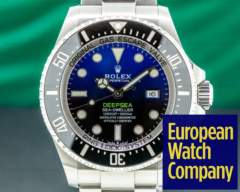 Rolex 126660 Sea Dweller Deep Sea D-Blue 2018