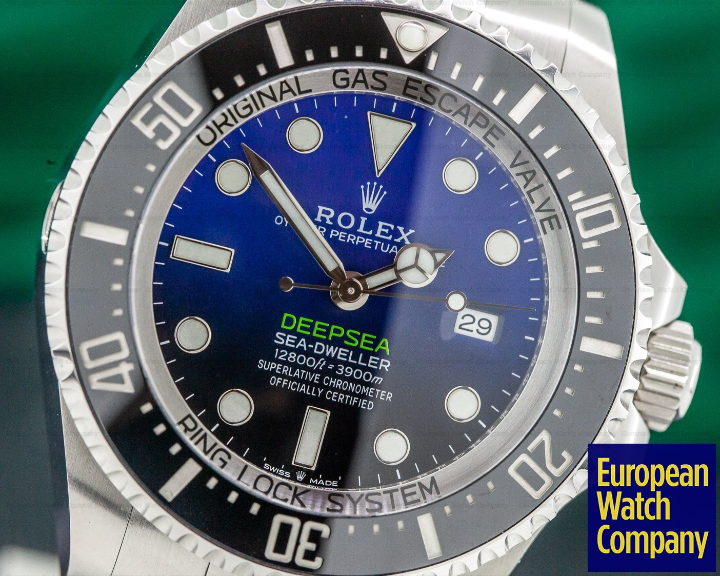Rolex 126660 Sea Dweller Deep Sea D-Blue 2018 Model