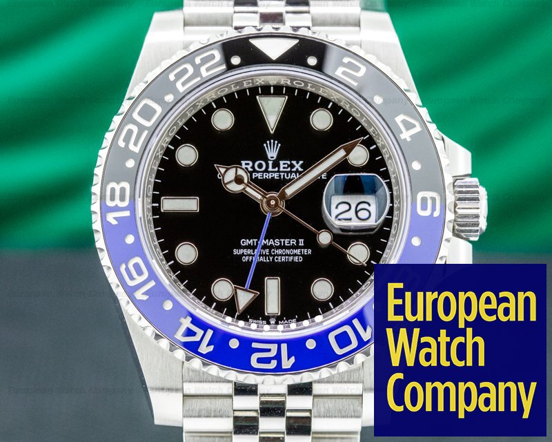 Rolex 126710 BLNR GMT Master II 126710 Ceramic