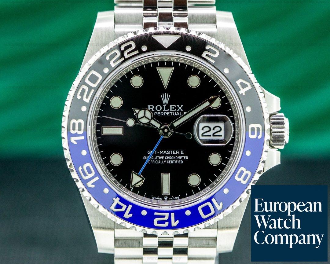 Rolex GMT Master II 126710 Ceramic Batman SS / Jubilee 2021 UNWORN Ref. 126710 BLNR