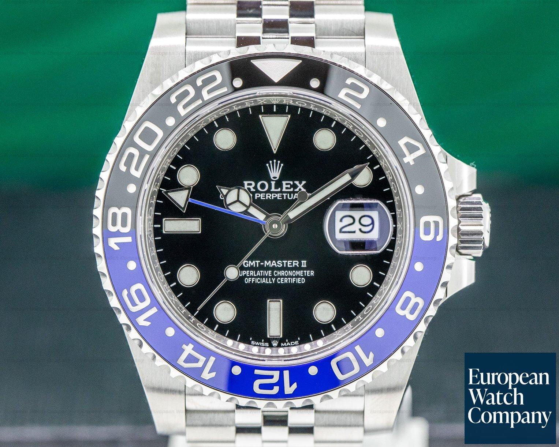"Rolex 126710 BLNR GMT Master II Ceramic ""Batman"" SS / Jubilee UNWORN"