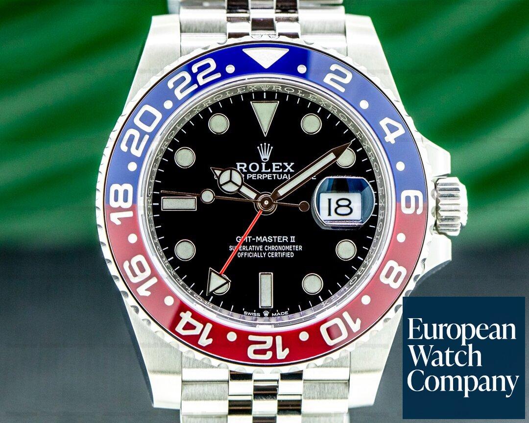 Rolex 126710 BLRO GMT Master II Ceramic 126710