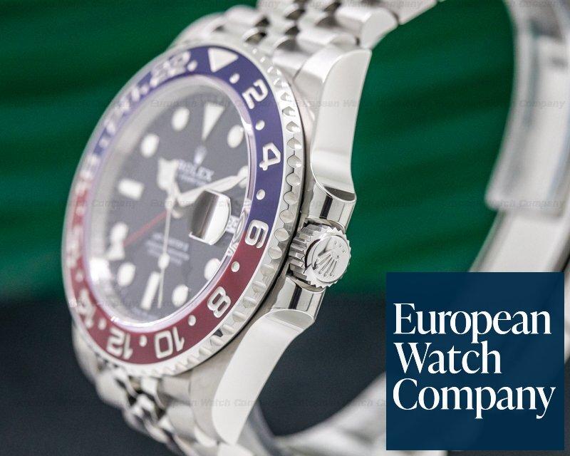 "Rolex 126710 BLRO GMT Master II Ceramic ""Pepsi"" SS / Jubilee UNWORN"