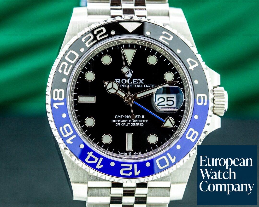 Rolex GMT Master II 126710 Ceramic Batman SS UNWORN Ref. 126710BLNR