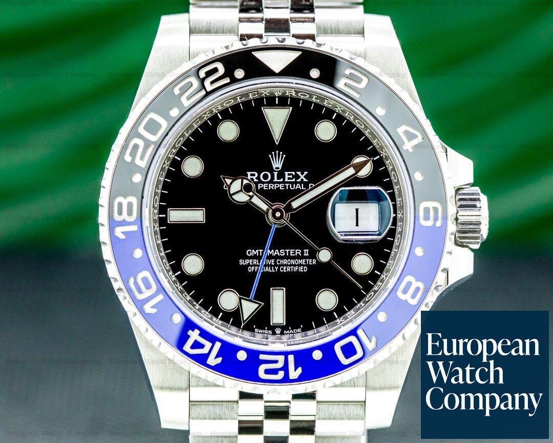 Rolex GMT Master II Ceramic Batman SS / Jubilee 2019 Ref. 126710BLNR