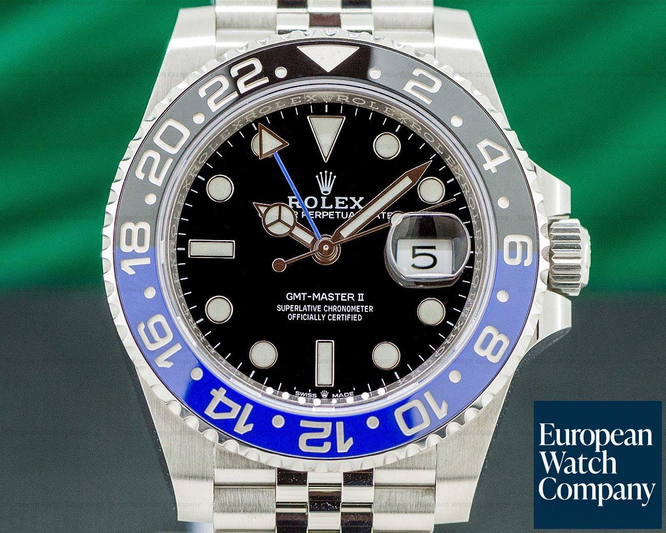 Rolex 126710BLNR GMT Master II Ceramic