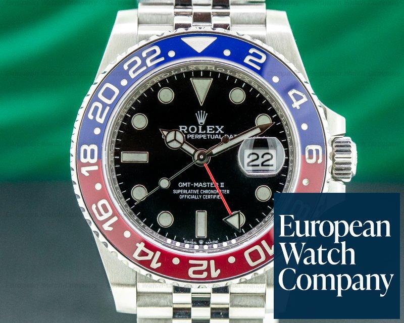 Rolex 126710BLRO GMT Master II 126710 Ceramic