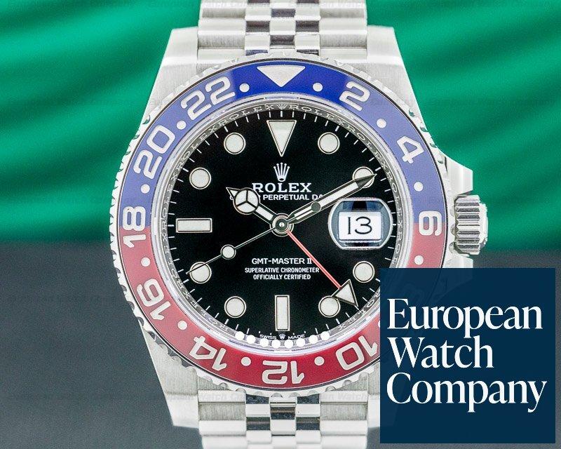 Rolex 126710BLRO GMT Master II Ceramic 126710