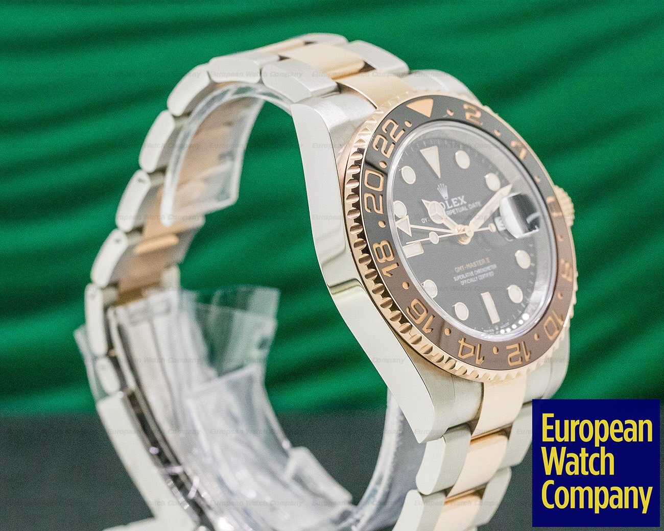 Rolex 126711CHNR GMT Master II Ceramic Root Beer SS / 18K 2019