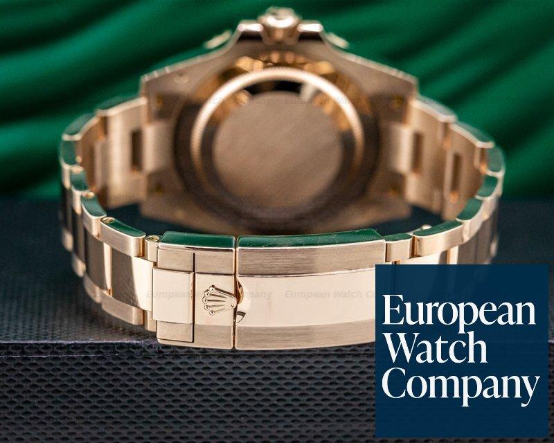Rolex 126715 CHNR GMT Master II 126715 18K Everose Ceramic Root Beer 2019