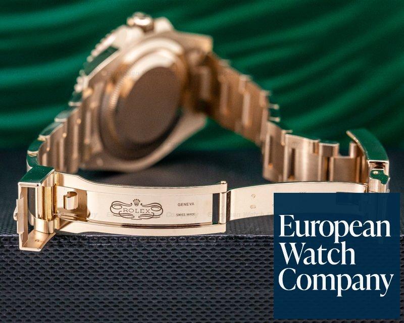 Rolex 126715 CHNR GMT Master II 18K Everose Ceramic Root Beer UNWORN