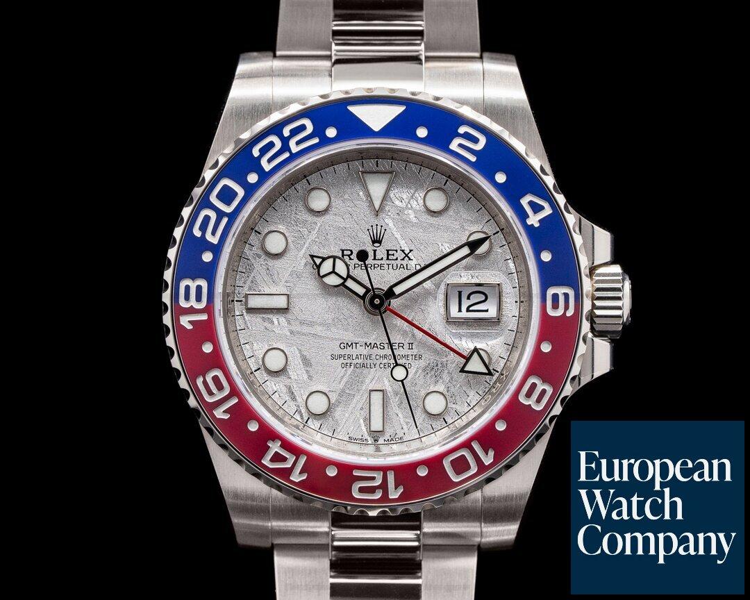 Rolex 126719 METEORITE   GMT Master II  126719 Meteorite Ceramic