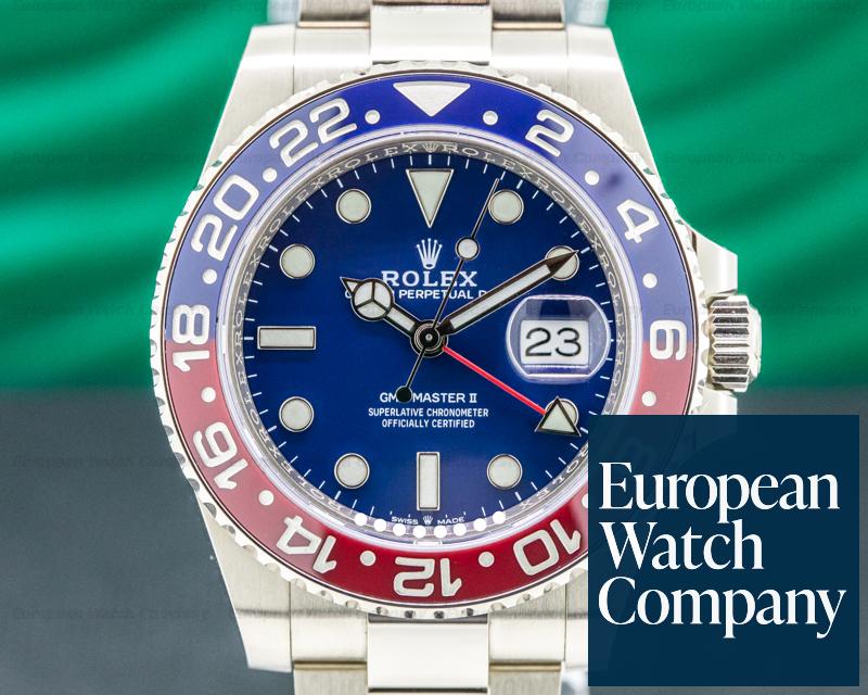 Rolex 126719BLRO GMT Master II Ceramic