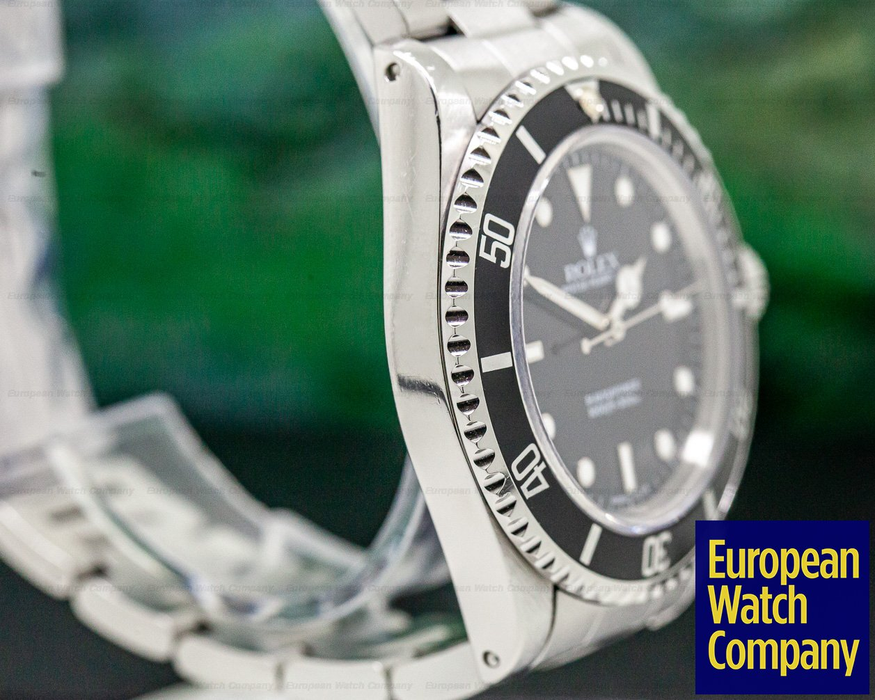 Rolex 14060 Submariner No Date SS FULL SET