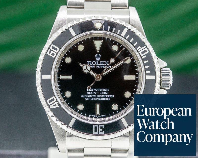 Rolex 14060M Submariner No Date SS 4 Line