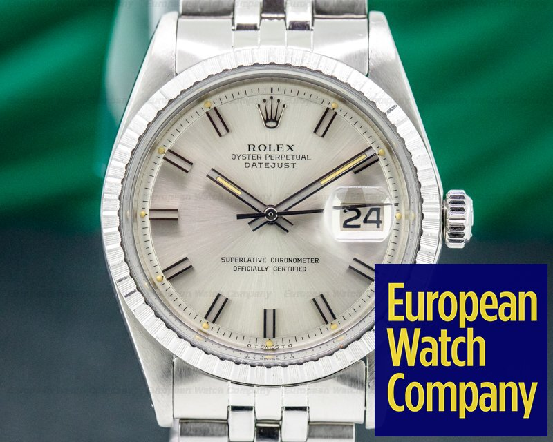 Rolex 1603 Vintage Datejust Silver Dial SS / SS Circa 1973