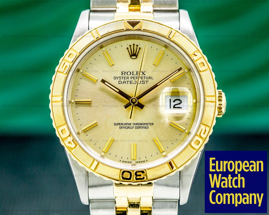 Rolex Datejust Thunderbird 16263 Silver Champagne Silver Dial Ref. 16263