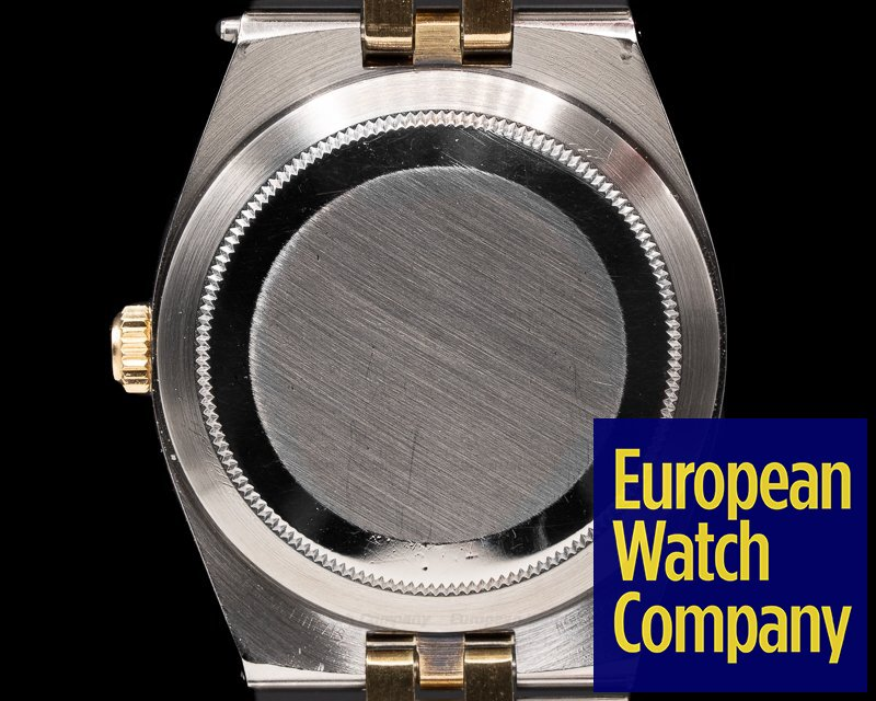 Rolex 1630 Datejust Champagne Dial SS/14K Yellow Gold 1970's RARE