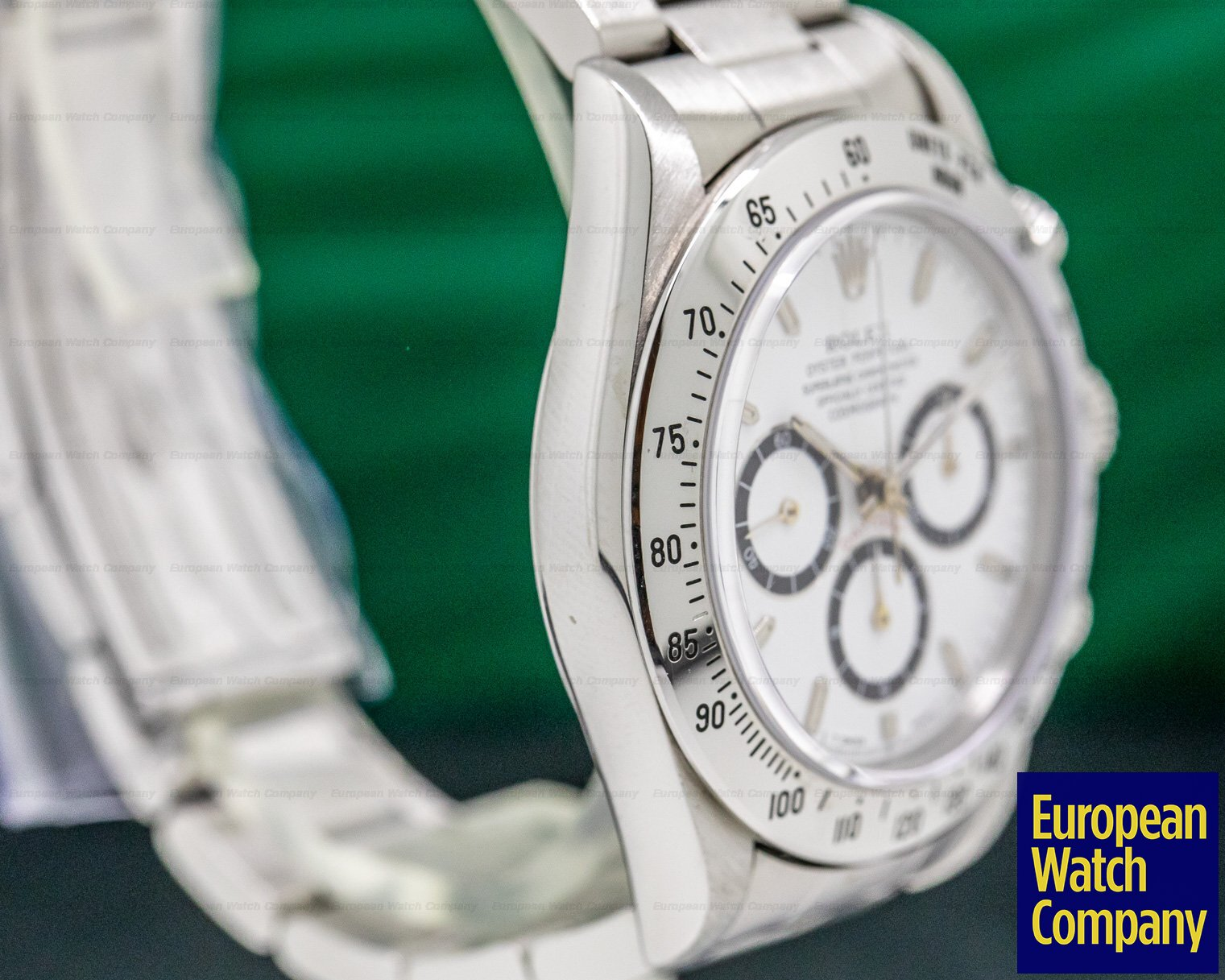 Rolex 16520 Daytona SS White Dial Zenith Movement INVERTED 6