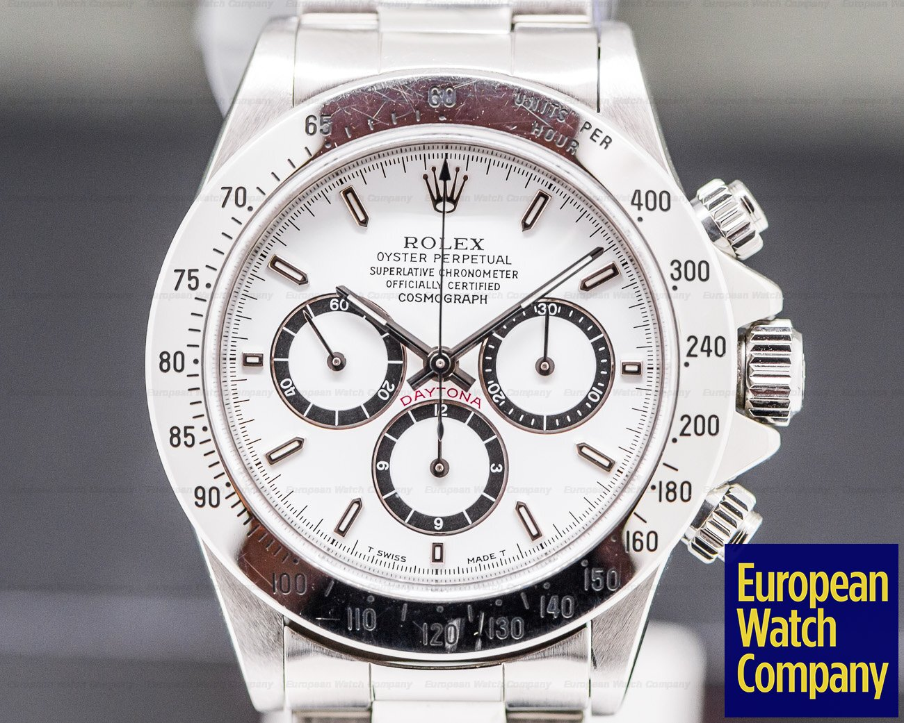 Rolex 16520 Daytona Zenith Movement White Dial SS