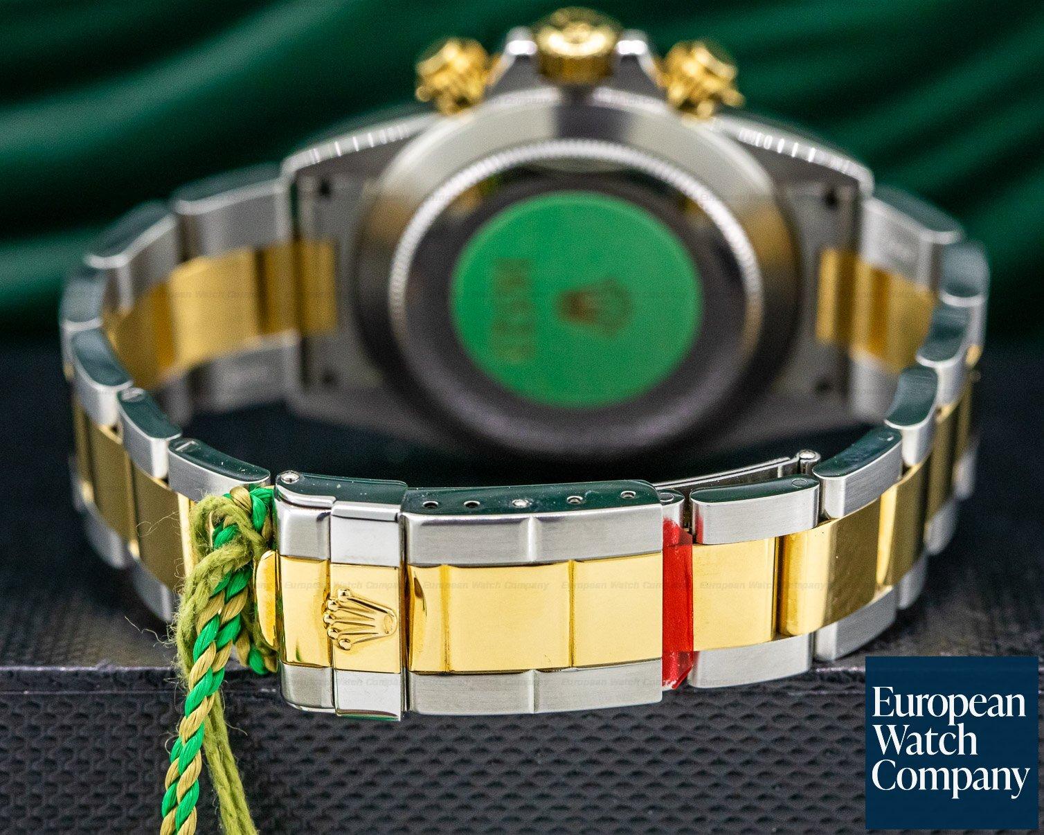 Rolex 16523 Zenith Daytona Cosmograph 18K Yellow Gold / SS NEW OLD STOCK