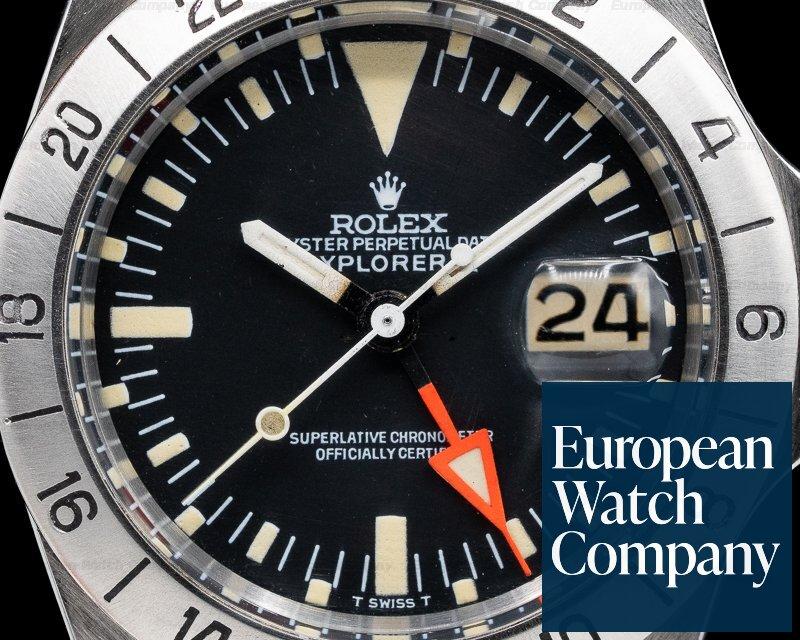 Rolex 1655 Explorer II Steve McQueen 1655 Freccione c. 1973