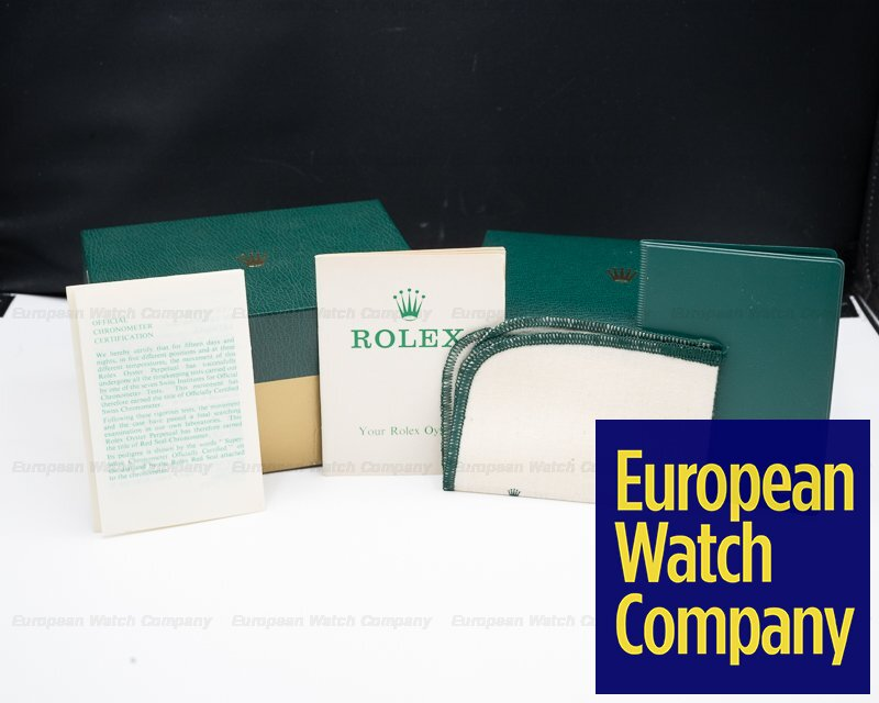 Rolex 1655 Explorer II Steve McQueen Freccione UNPOLISHED FULL SET