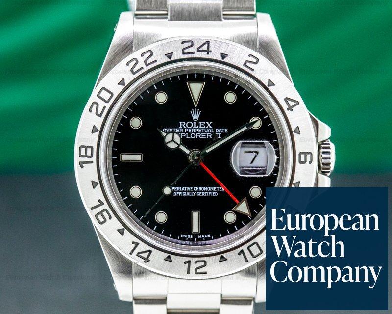 Rolex 16570 Explorer II 16570 Black Dial