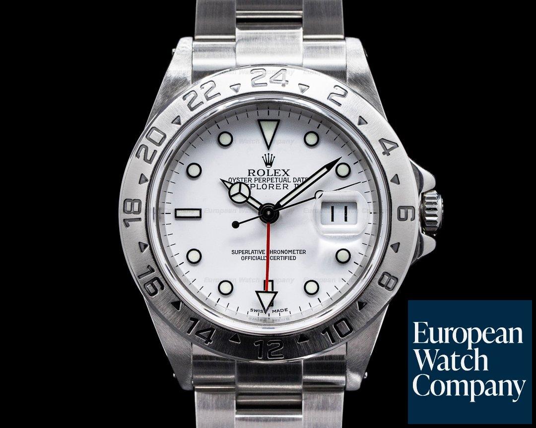 Rolex 16570 Explorer II