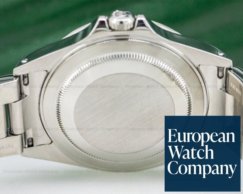 Rolex 16570 Explorer II White Dial SS