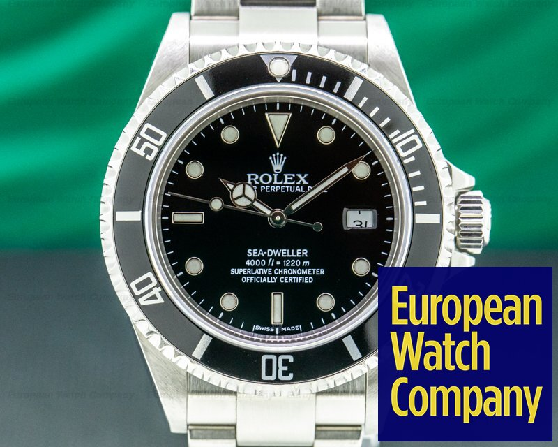 Rolex 16600 Sea Dweller 16600 SS / Bracelet FULL SET