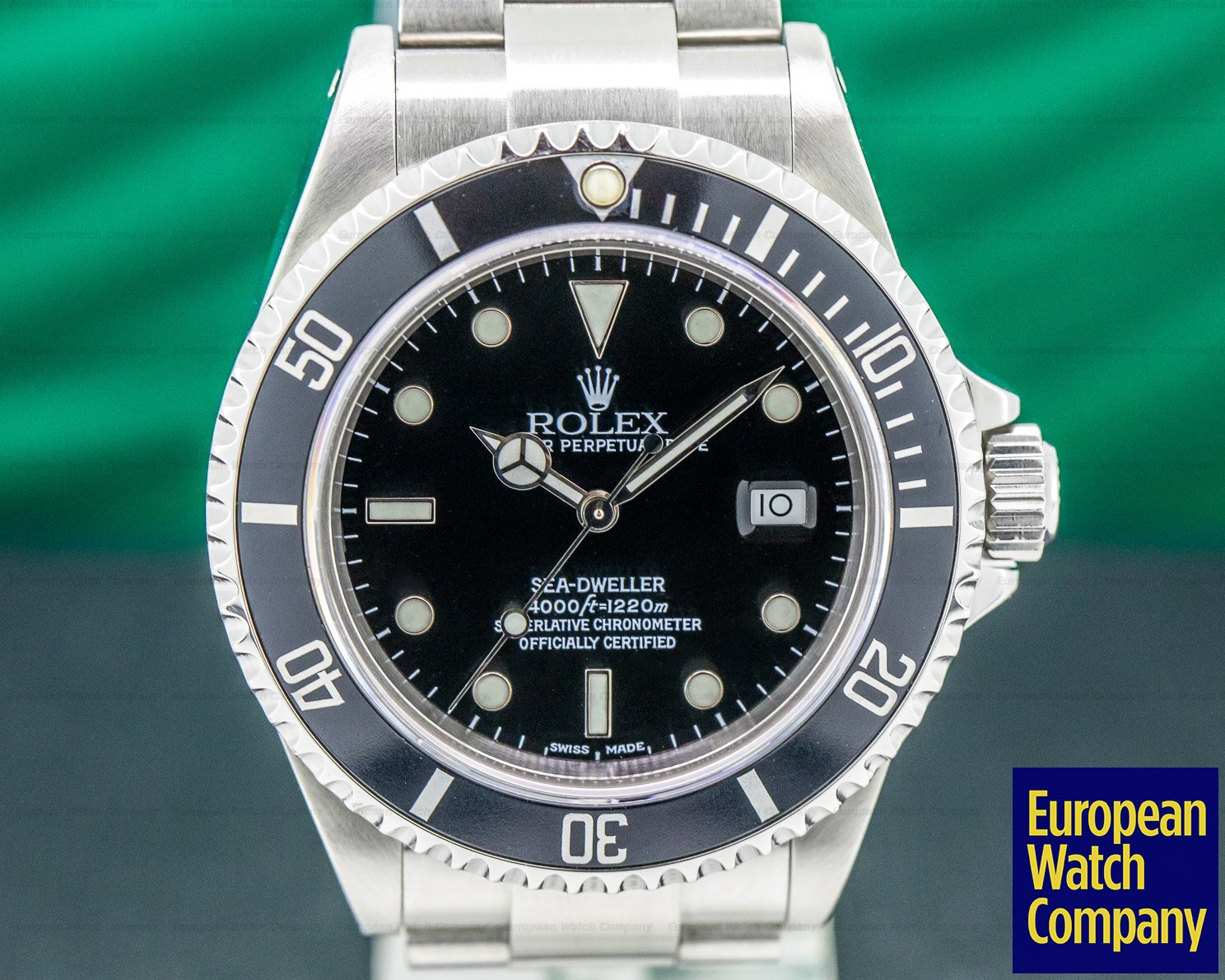 Rolex 16600 Sea Dweller SS / Bracelet A Series