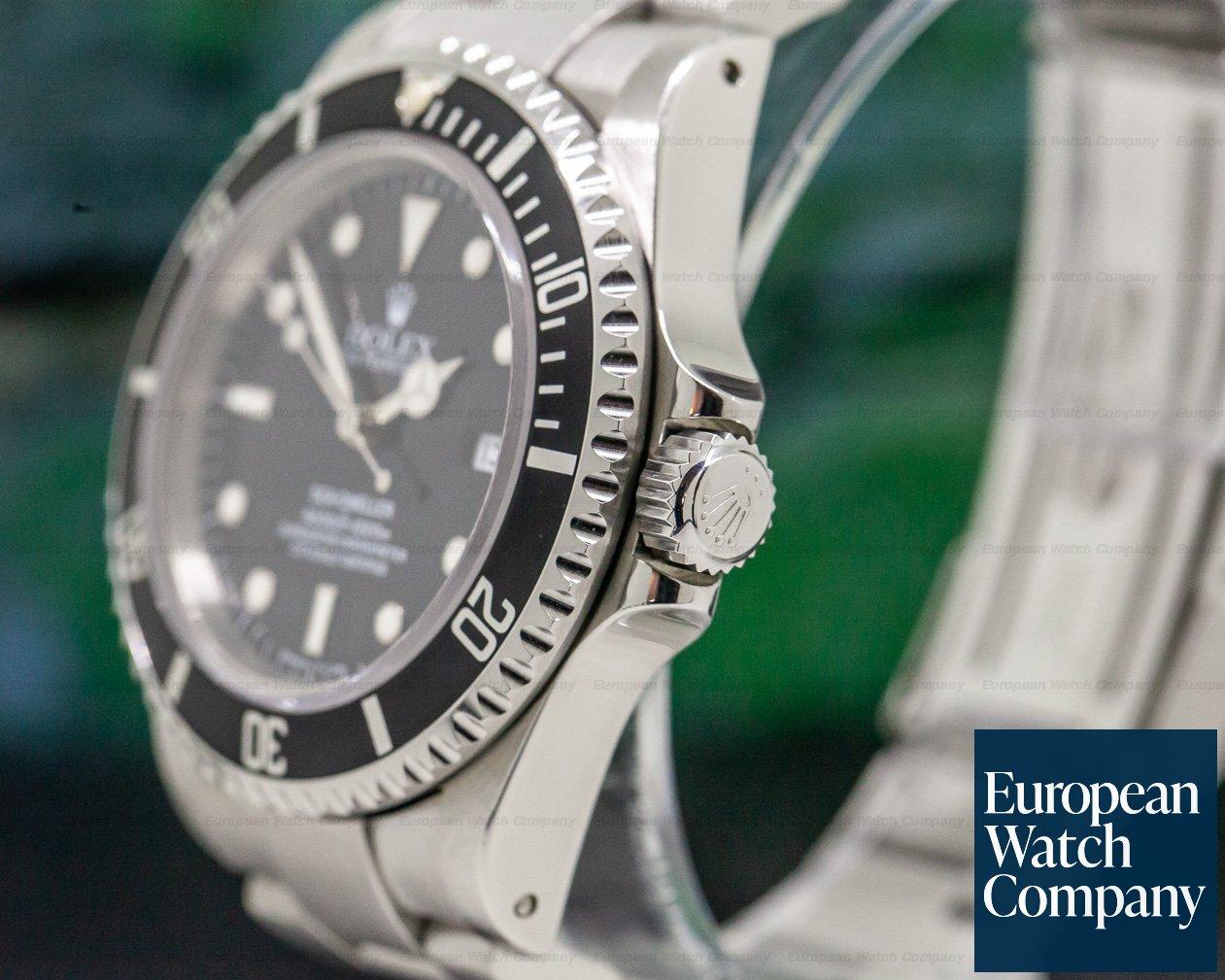 Rolex 16600 Sea Dweller SS U Series Full Set PATINA