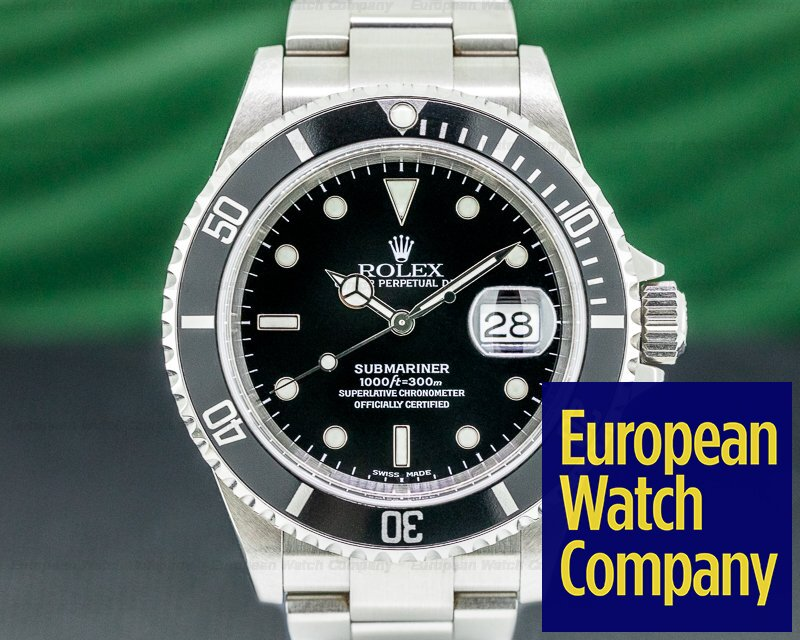 Rolex 16610 Submariner 16610 Date SS SHARP